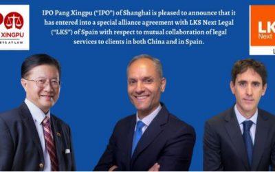 LKS Next LEGAL cierra un acuerdo de colaboración con un despacho de abogados de China