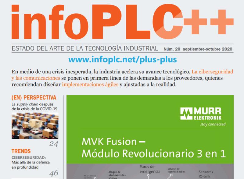 Edorta Echave en el Especial Comunicaciones Industriales & Ciberseguridad de la revista InfoPLC++