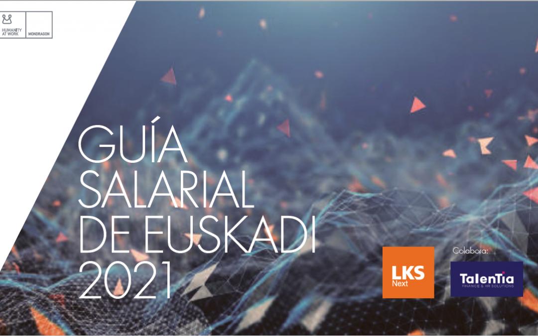 Ya tienes a tu disposición la Guía Salarial de Euskadi 2021