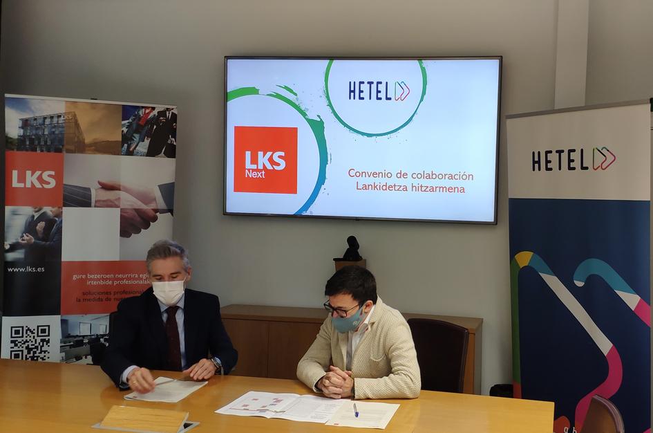 HETEL y LKS Next firman un acuerdo para impulsar las vocaciones informáticas, con unaempleabilidad muy  altapero una demanda insuficiente