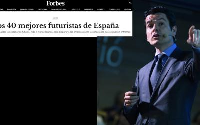 Los 40 mejores futuristas de España según Forbes