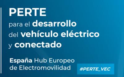 Presentado el PERTE para el desarrollo del vehículo eléctrico y conectado #PERTE_VEC