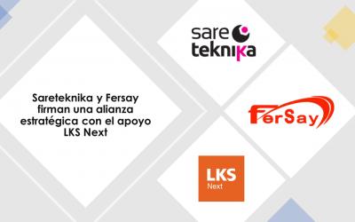 Sareteknika y Fersay firman una alianza estratégica